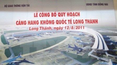 Phối cảnh Cảng HKQT Long Thành theo công bố trong quy hoạch