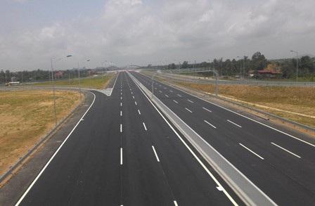 Đoạn đường cao tốc phía Hải Phòng đã hoàn thành