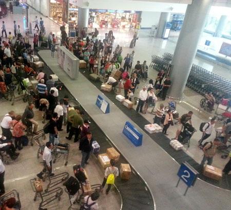 Hành lý của các chuyến bay quốc tế đến Nội Bài và Tân Sơn Nhất thường xuyên bị mất cắp