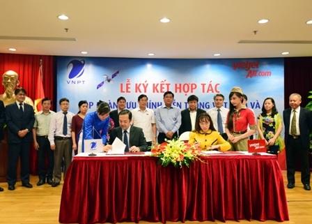 Vietjet Air và VNPT ký kết hợp tác ngày 21/5