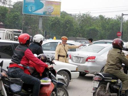 Cảnh sát giao thông có vai trò rất quan trọng trong việc đảm bảo trật tự ATGT