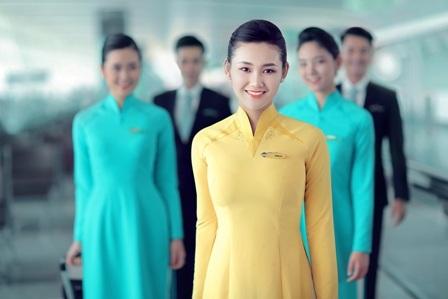 Bộ đồng phục chính thức của tiếp viên hàng không Vietnam Airlines