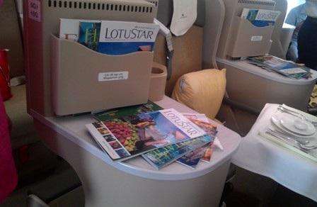 Nội thất bên trong máy bay A350