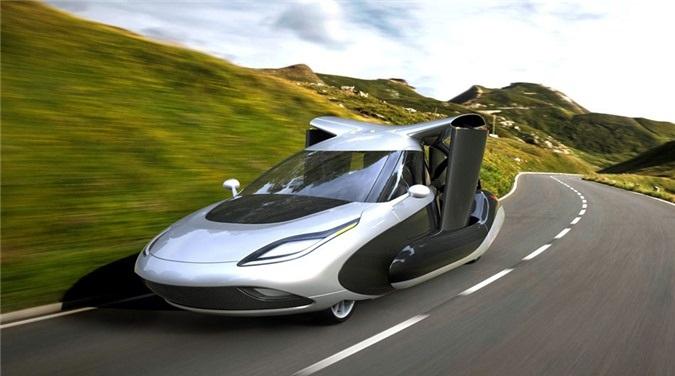 Concept xe hơi bay và chạy bằng năng lượng điện độc đáo trong tương lai