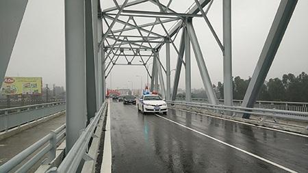 Chính thức thông xe cầu Bến Thuỷ cũ sau 3 tháng sữa chữa.