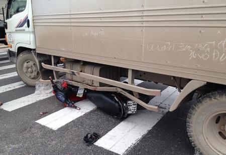 Vụ tai nạn vào lúc 13h30 ngày 21/12.