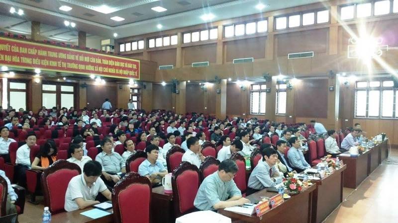 Hội nghị hiệu trưởng các trường đại học Sư phạm lần V.