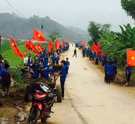 Đồng chí Nguyễn Thị Thơm - Phó Bí thư Tỉnh đoàn