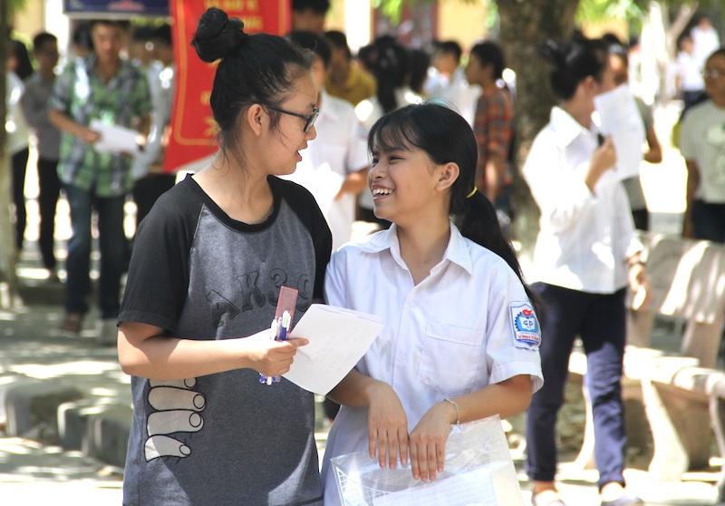 Tại Nghệ An theo các thí sinh cho biết, kết thúc môn Ngữ Văn đạt điểm từ 7-8. (Ảnh: Nguyễn Duy)