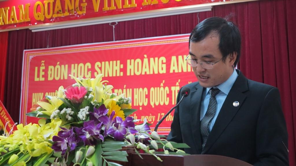 Thầy Đậu Hoàng Hưng cho biết đề thi môn Toán học năm nay được đánh giá rất khó.
