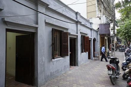 Ngôi nhà số 5D phố Hàm Long (Hà Nội) được công nhận là Di tích lịch sử văn hóa từ năm 1964