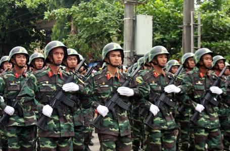 Diễu binh, diễu hành kỉ niệm 70 năm Cách mạng tháng Tám và Quốc khánh 2/9.
