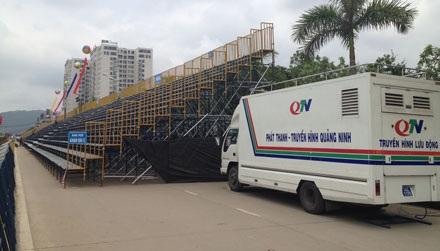 Trương trình sẽ được truyền hình trực tiếp trên sóng THVN và Đài Phát thanh truyền hình Quảng Ninh.