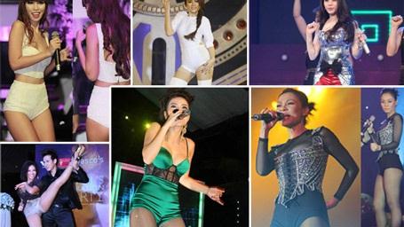 """Showbiz Việt: """"Mốt"""" quần không thể ngắn hơn"""