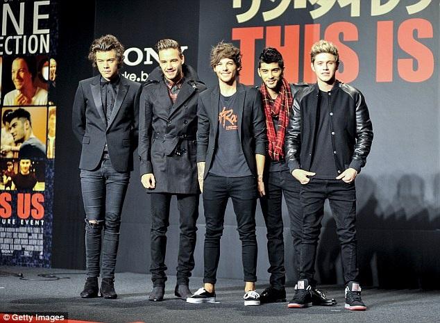5 chàng trai trong buổi ra mắt This is us tại Nhật