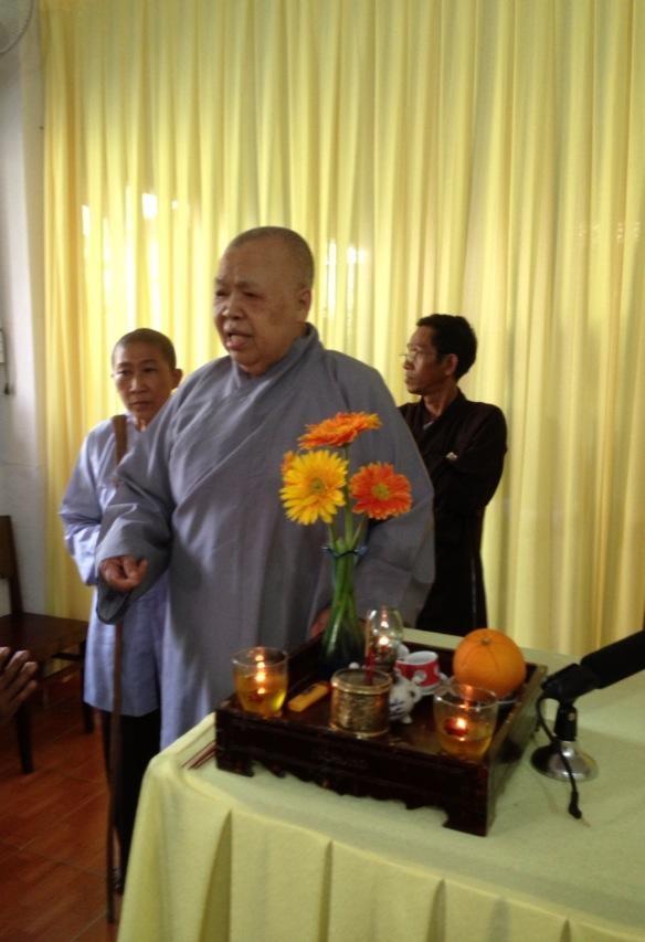 Sư phụ của Trương Thị May - Sư bà Thượng Huệ Hạ Giác
