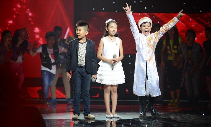 Giọng hát Việt nhí lên ngôi trong năm 2013