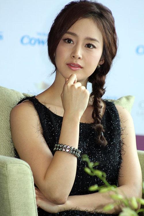 Kim Tae Hee chỉ khiêm tốn ở vị trí thứ 4 dành cho nữ