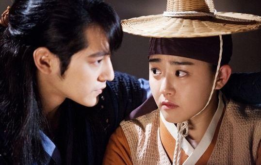 Moon Geun Young và Kim Bum trong Nữ thần lửa