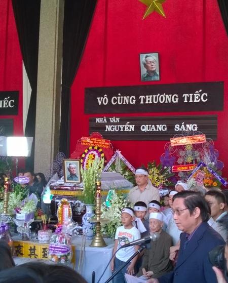 Lễ truy điệu được bắt đầu vào lúc 13h00 trưa ngày 16/2/2014