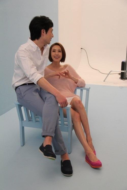 Những bức ảnh hậu trường trong buổi chụp hình quảng cáo