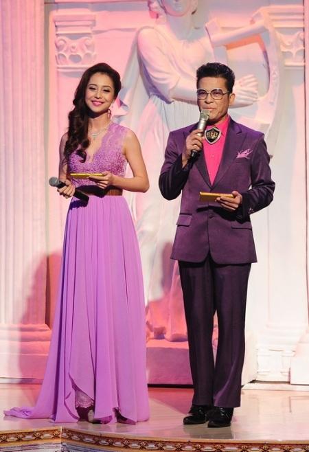 MC Jennifer Phạm và Thanh Bạch