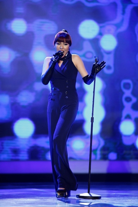 Phương Linh chọn một ca khúc khá kén tai nghe cho phần dự thi của mình
