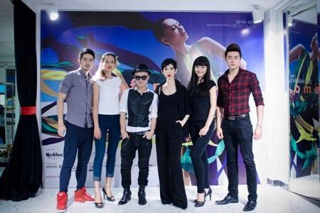 Đỗ Mạnh Cường và Xuân Lan sẽ chọn những người mẫu phù hợp nhất cho chương trình