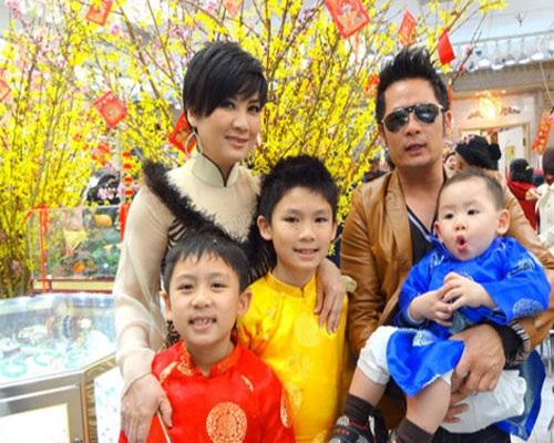 Gia đình hạnh phúc của Bằng Kiều trước khi ly hôn