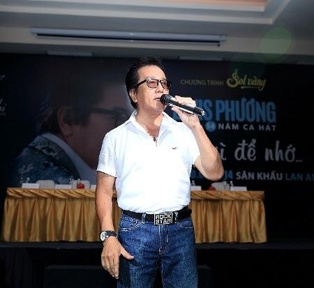 Elvis Phương hát tặng ca khúc