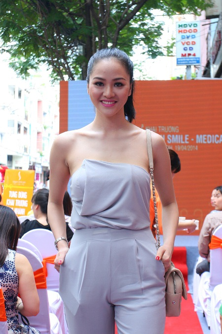 Người đẹp Phan Thị Lý tái xuất sau thời gian lấy chồng