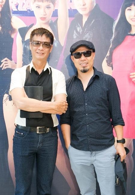 Giám khảo Lê Hoàng và Giám đốc sản xuất âm nhạc Huy Tuấn