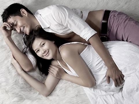 Chưa đám cưới nhưng Huy Khánh và Mạc Anh Thư vẫn thấy hạnh phúc viên mãn