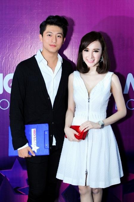 Harry Lu cũng ngồi vào vị trí này cùng Angela Phương Trinh