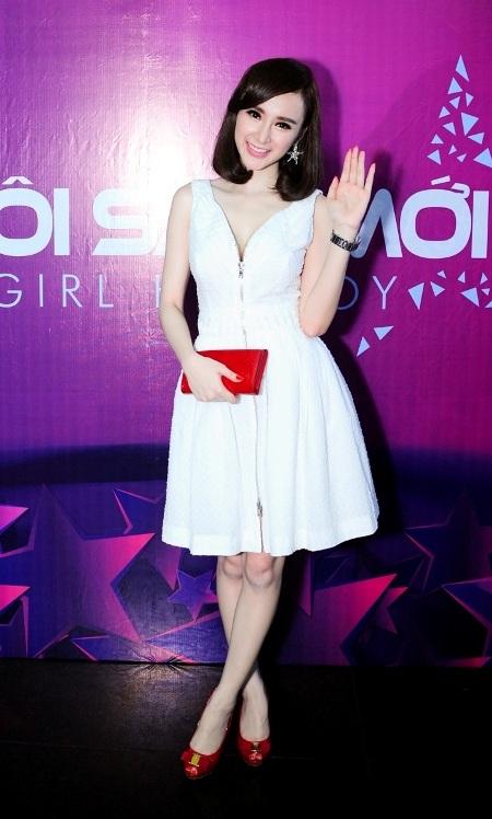 Angela Phương Trinh lần đầu được mời làm giám khảo
