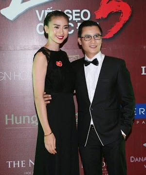 Ca sỹ Hoàng Bách đến ủng hộ Ngô Thanh Vân