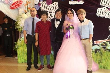 Tiệc cưới cũng không thể thiếu NSƯT Thành Lộc và ca sỹ Don Nguyễn