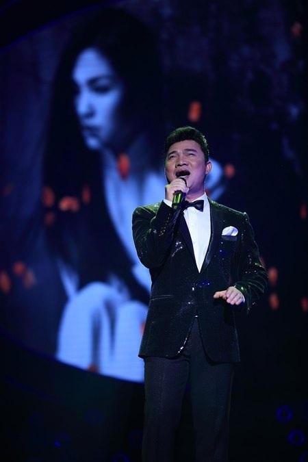 Màn song ca cùng với Quang Linh trong ca khúc