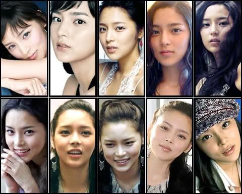 Hành trình thay đổi qua nhiều gương mặt khác nhau của Park Shi Yeon.