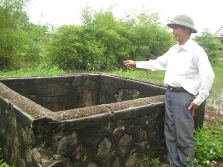 Chiếc giếng cổ thời kỳ Chăm pa vừa được phát hiện