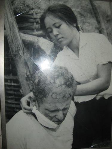 Bức ảnh Tấm lòng người Việt Nam