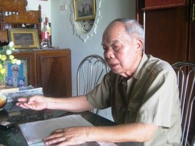 Ký ức về Điện Biên Phủ vẫn còn vẹn nguyên trong ký ức của người lính già Nguyễn Huyên