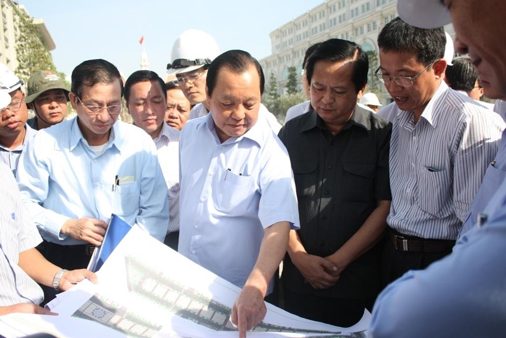 Bên cạnh đó, ông Lê Thanh Hải yêu cầu phải xây dựng có hệ thống phun s