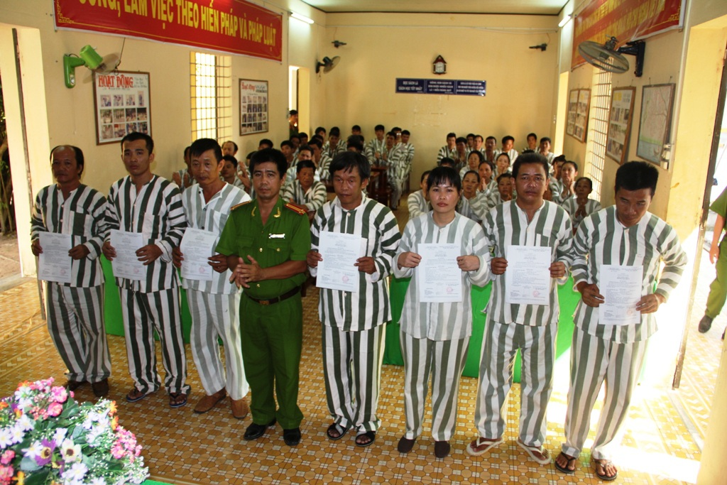 Tây Ninh: Giảm án cho 26 phạm nhân dịp lễ 30/4