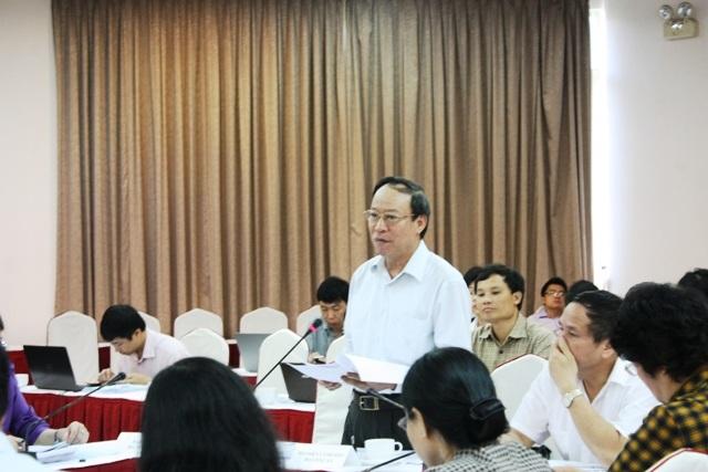 Thứ trưởng Bộ Công an Lê Quý Vương tại phiên làm việc.