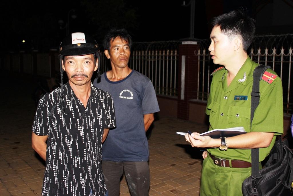 Ông Tuấn kể lại vụ tai nạn kinh hoàng.