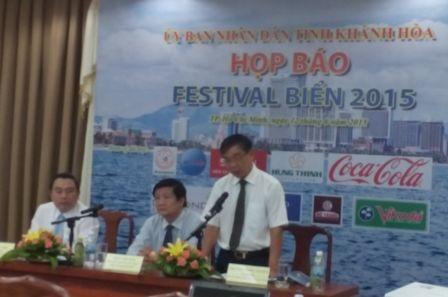UBND tỉnh Khánh Hòa công bố chương trình Festival Biển 2015