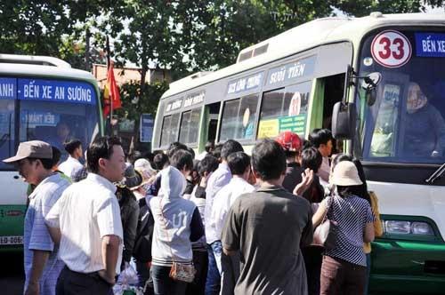 HTX 19/5 đã lắp đặt camera trên 51 chiếc xe buýt chạy tuyến số 33 (ảnh minh họa)