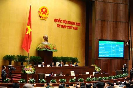 Sẽ có chức danh Tổng Thư ký Quốc hội từ 1/1/2015 (Ảnh: Minh Thanh)
