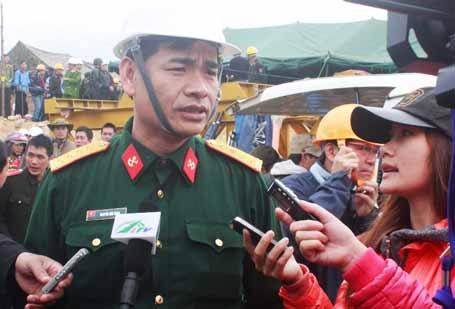 Đại tá Nguyễn Huy Hùng nhận định các phương án đều đang được triển khai thuận lợi.